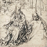 Rest on the Flight into Egypt, Albrecht Dürer