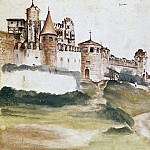 Albrecht Dürer - The Castle at Trento