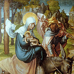 Albrecht Dürer - The Seven Sorrows of the Virgin - The Flight into Egypt