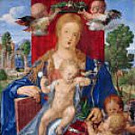 Albrecht Dürer - The Madonna with the Siskin