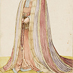 Albrecht Dürer - Costume of a woman from Livonia