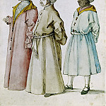 Study of Turkish Costumes, Albrecht Dürer
