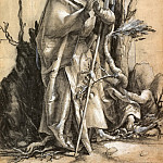 Bearded Saint in a Forest, Albrecht Dürer