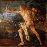 Hercules and the birds Stymphalian, Albrecht Dürer