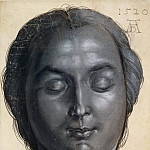 Albrecht Dürer - Head of a Woman