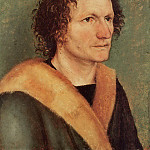 Portrait of a Man, Albrecht Dürer