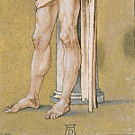 Christ Bound to the Column, Albrecht Dürer