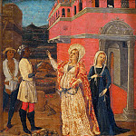 Giovanni di Paolo - Scenes from the Life of Saint Barbara