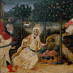 Antoniazzo Romano - Scenes from the Life of Saint Barbara