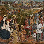 Charles XV of Sweden - Adoration of the Magi