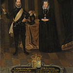 Fredrik II , king of Denmark. Sofia , Princess of Mecklenburg [After]