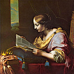 Carlo Dolci - St Catherine Reading a Book