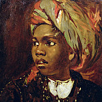 William Etty - Study of a Black Boy