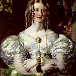 William Etty - Portrait of Miss Elizabeth Potts