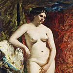 William Etty - A muse