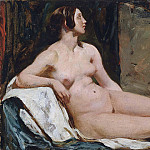William Etty - Female nude