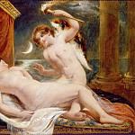 William Etty - Cupid and Psyche