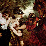 William Etty - The Rape of the Sabine Women, after Rubens