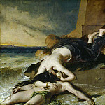 William Etty - Hero and Leander