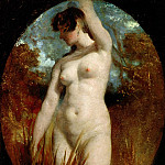 William Etty - A Bather