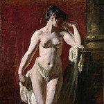 William Etty - Standing Female Nude