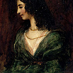 William Etty - Portrait of a Lady