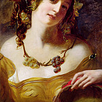 William Etty - A Bacchante