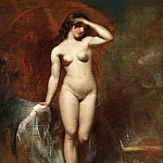 William Etty - The Birth of Venus