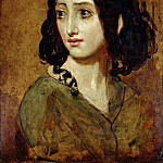 William Etty - Portrait of Mlle Rachel
