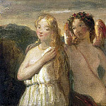 William Etty - Venus and Psyche (sketch)