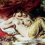 William Etty - Venus and Cupid
