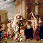 William Etty - Venus And Her Satellites