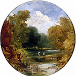 William Etty - The Plantation at Acomb