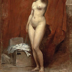 William Etty - A female nude