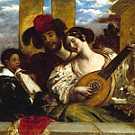 William Etty - The Duet