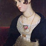 William Etty - PORTRAIT OF KITTY, THE ARTISTS NIECE