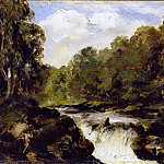 William Etty - The Strid, Bolton Abbey