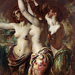 William Etty - The Three Graces