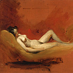 William Etty - STUDY OF A FEMALE NUDE