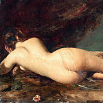 William Etty - Reclining Nude