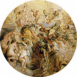 William Etty - Apotheosis of the Duke of Buckingham, after Rubens