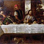 William Etty - Supper at Emmaus, after Titian