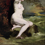 William Etty - Ariadne