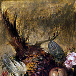 William Etty - Dead Pheasant and Fruit