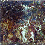 William Etty - Sketch for The World Before the Flood