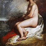 William Etty - Seated Nude