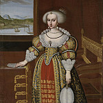 David Klöcker Ehrenstråhl - Kristina (1626-1689), Queen of Sweden [Attributed]
