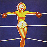 Джил Элвгрен - GCGEPU-015_1939_A_Knockout