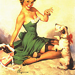Gil Elvgren - GCGEPU-035_1950_Mighty_Sweet