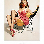 Gil Elvgren - PYG GE 031 That Low Down Feeling Who Me 1957